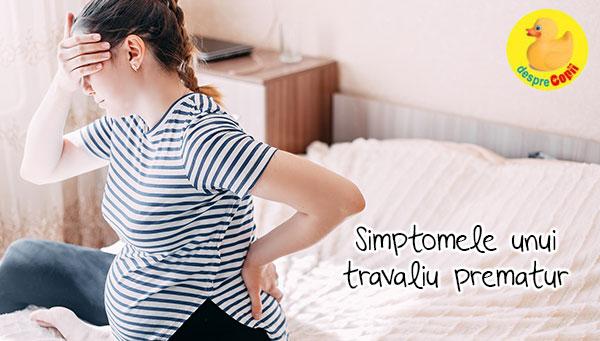 Simptomele travaliului prematur si 8 factori de risc