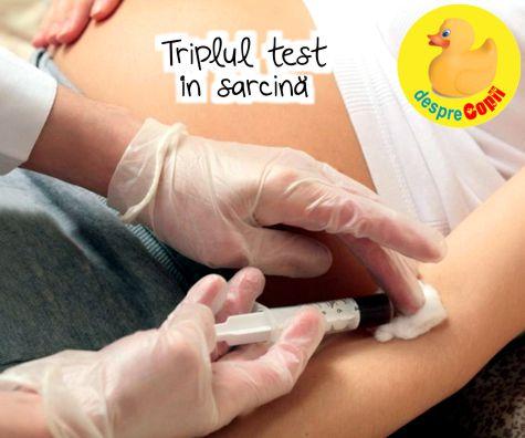 Triplul test in sarcina: ce riscuri poate detecta