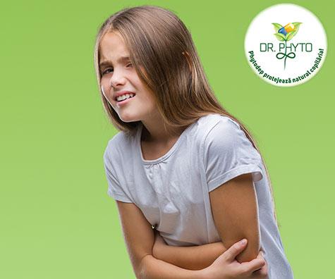 Tulburarile digestive la copii - imagine de ansamblu