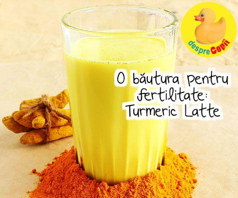 O bautura pentru fertilitate: Turmeric Latte