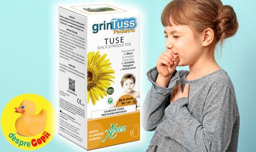 Remediul pentru tusea seaca si cea productiva  intr-un singur produs: Grintuss