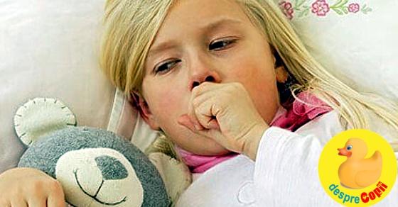 Tusea si raceala copilului: ghid pentru parinti