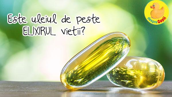 Este uleiul de peste elixirul vietii?