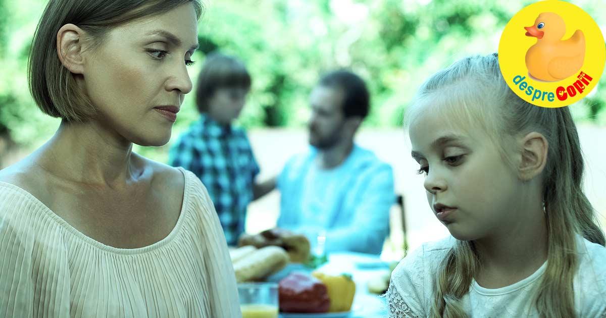 Gandeste-te bine inainte de ati umili copilul in public - iata ce nu trebuie sa faci