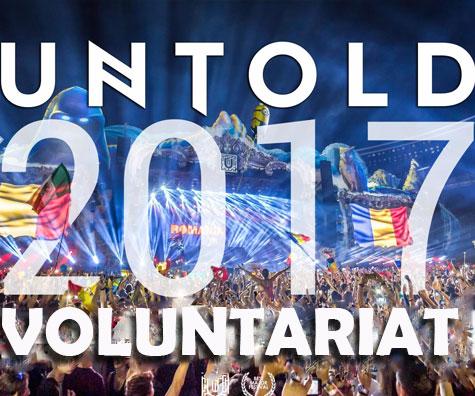 Vrei sa faci parte din magia UNTOLD si NEVERSEA? Inscrie-te acum in echipa de voluntari!
