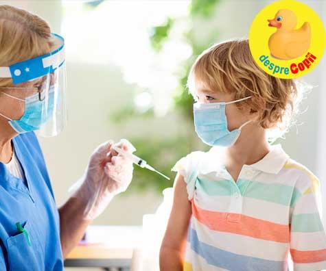 Vaccinul antigripal si copiii. Este sigur sa facem copiilor…