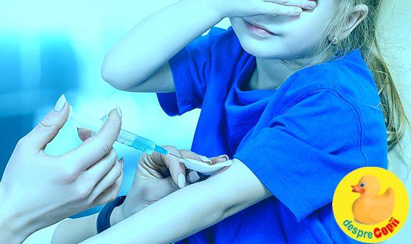 6% dintre copiii din Romania nu sunt vaccinati