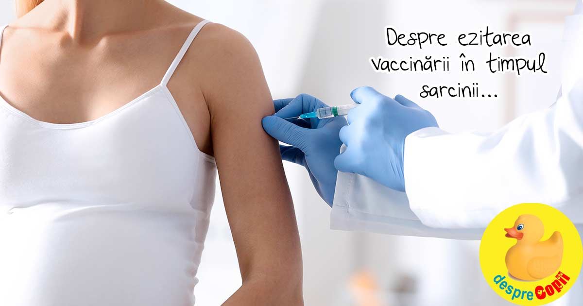 Esti insarcinata si ai ezitari despre vaccinare? Iata ce trebuie sa stii