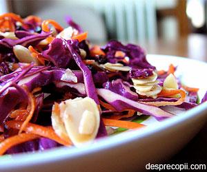 Salata de varza si clementine