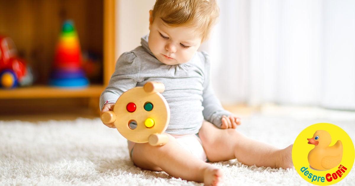 Dezvoltarea vederii la bebelusi: etape si probleme care pot aparea