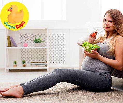 Alimentatia vegetariana in timpul sarcinii: ghid