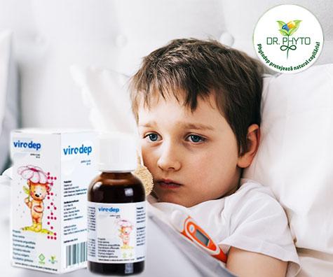 Scurteaza durata infectiilor respiratorii cu VIRODEP