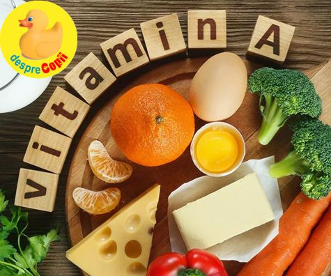Vitamina A si sarcina: rol si dozare