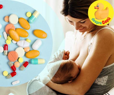 Trebuie sa iau vitamine prenatale pe durata alaptarii? Iata sfatul medicului.