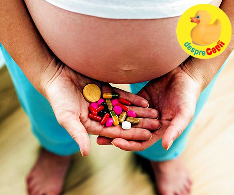 Vitaminele in timpul sarcinii