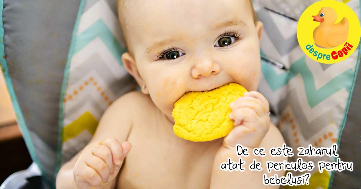 Zaharul si bebelusii - iata ce efecte are si cum il putem evita.