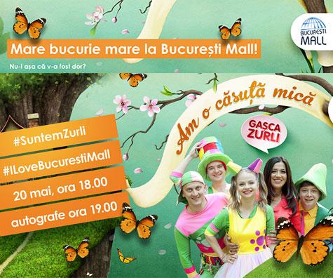 Mare bucurie mare la Bucuresti Mall! (P)