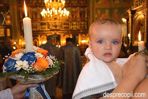 botez bebelusul