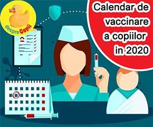 schema vaccinare 2020