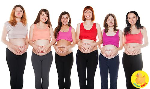 evolutia sarcinii din prima zi