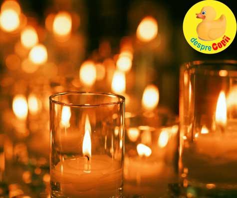 33 lumanari aprinse - rugaciunea sufletului