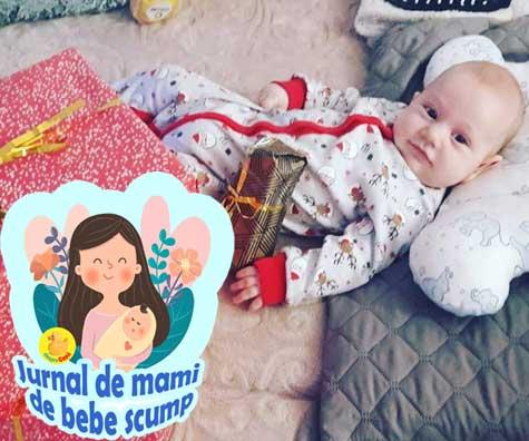 Bebe a implinit 4 luni si am ajuns la co-sleeping - jurnal de mami de bebe scump