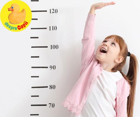 CALCULATOR: ce inaltime va avea copilul tau