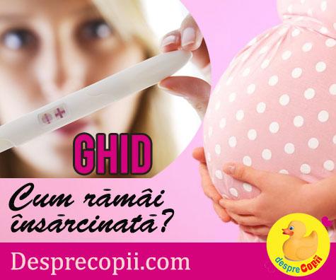 Cum sa raman repede insarcinata/gravida