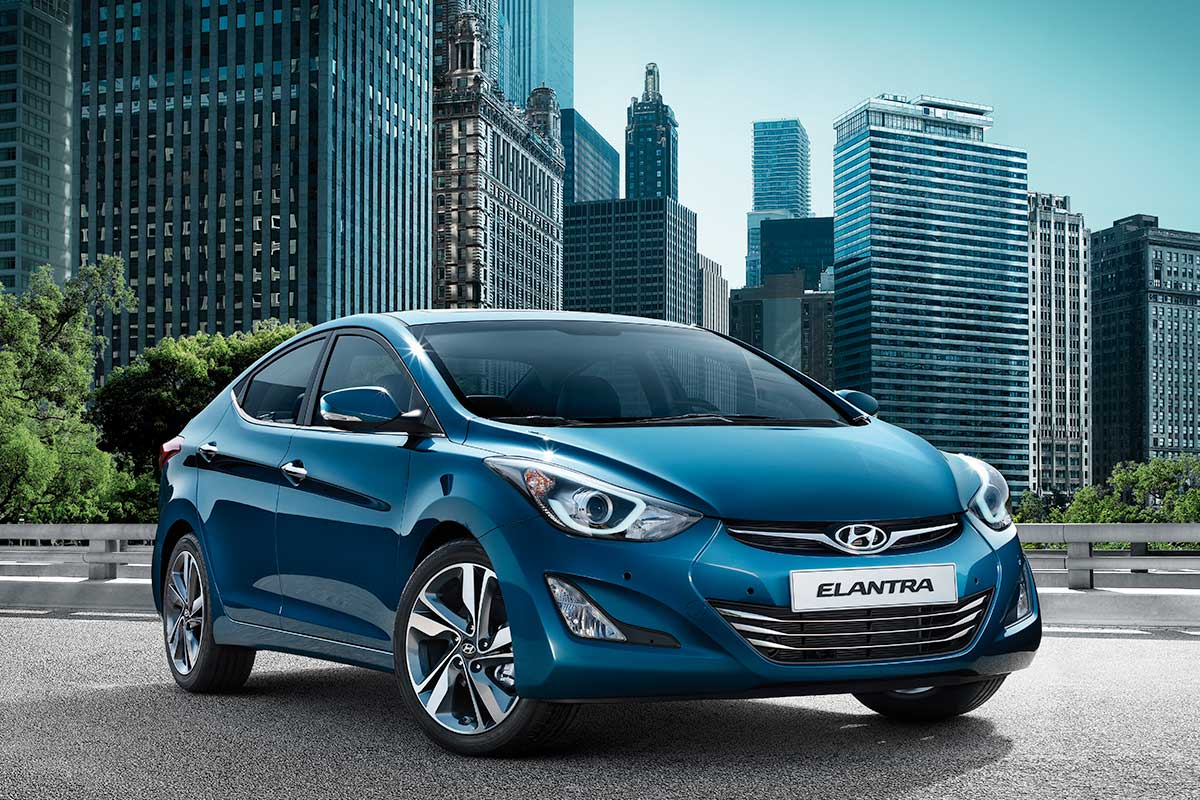 Hyundai Elantra in rol de masina de familie