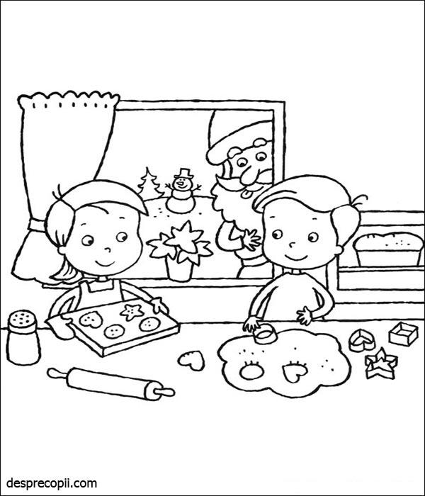 Copii gatind