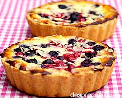 Mini-tarta cu fructe de padure