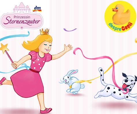 Micile printese folosesc produsele Prinzessin Sternenzauber