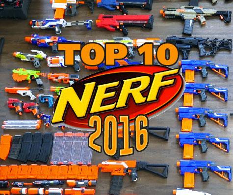 Cele mai bune blastere Nerf in 2016