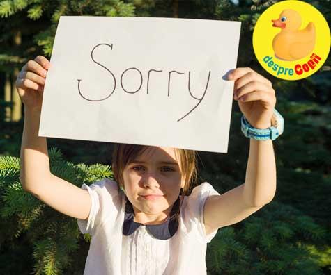 Asa invatam copilul sa-si ceara scuze, sincer - sfatul psihologului