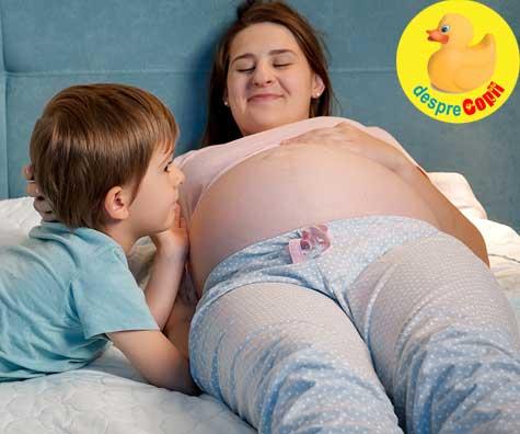 Saptamana 35, la a doua sarcina dupa 10 ani - jurnal de sarcina