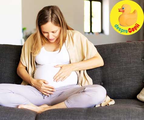 Primele miscari ale lui bebe in saptamana 19 - jurnal de sarcina