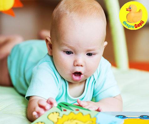 5 activitati pentru bebelusii de la 3 la 6 luni