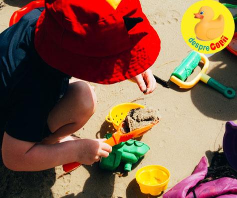 Activitati cu copiii la mare - pentru o vacanta de neuitat