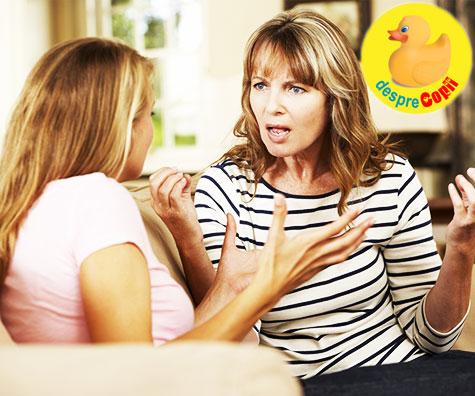 Cum sa castigi o controversa cu copilul tau adolescent: sfaturi strategice si intelepte