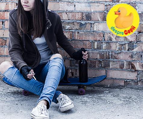 De ce se drogheaza adolescentii?