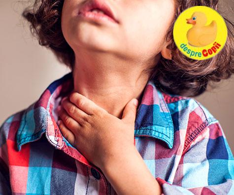 Care sunt afectiunile de sezon la copii si cum le tratam?