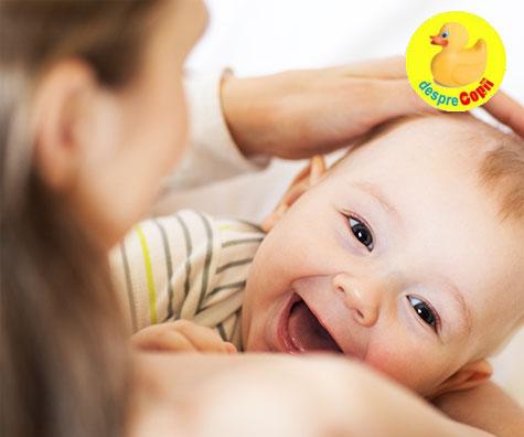 Alaptarea nu mareste riscul de carii la bebelus