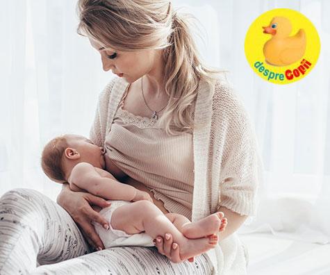 Alaptarea exclusiva a bebelusului: 9 sfaturi pentru a reusi