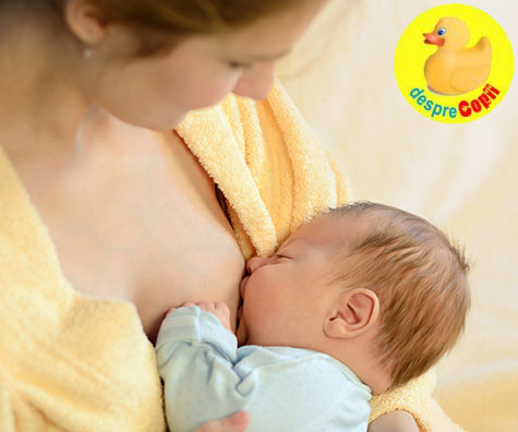 Bebelusii alaptati au nevoie de un supliment de fier?