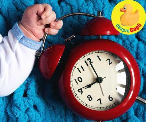 Greseli in alaptare: Programarea sesiunilor de alaptare la ceas