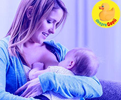 Cele mai mari provocari ale alaptarii - confesiunile unei mamici