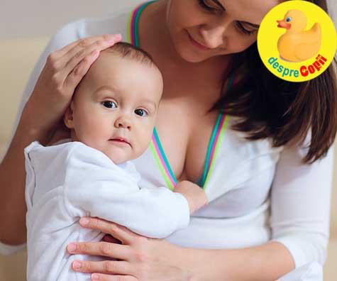 Bebelusul meu nu mai suge ca inainte - de ce este atat de distras?