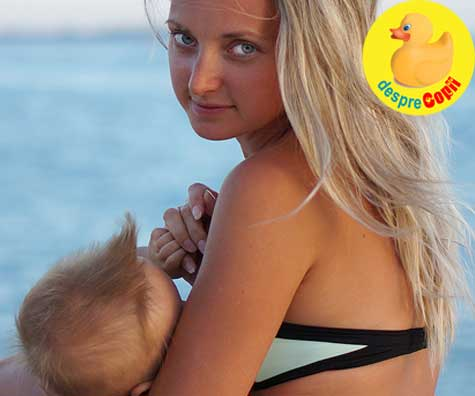 Mami, creste-ti productia de lapte cu o vacanta de alaptare: doar tu si bebe si fara alte griji