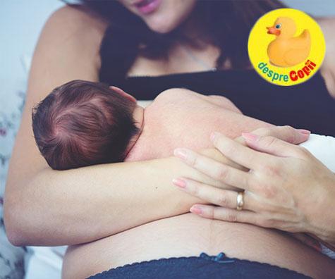 Alaptarea imediat dupa nastere este ca un vaccin pentru bebelus. Iata de ce ofera o protectie speciala.