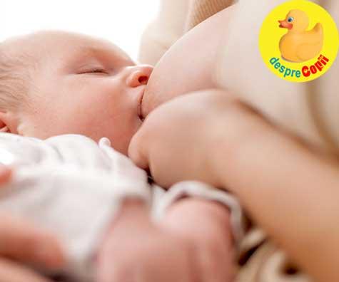 Alaptarea este un subiect sensibil pentru mame - jurnal de sarcina